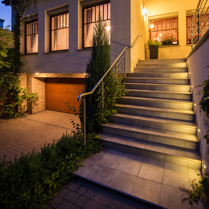 Hire An Electrician To Install Outdoor Security Lighting